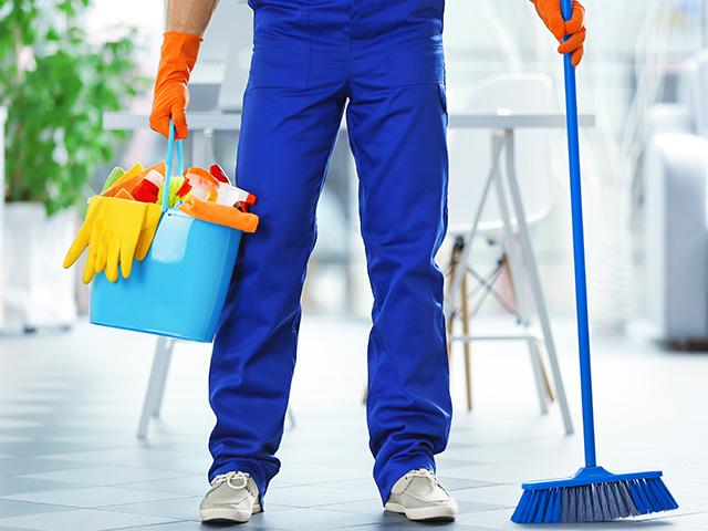 bom auxiliar de limpeza